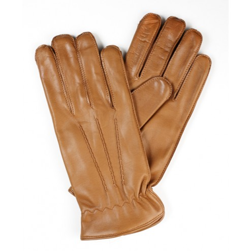 Camel Leather Gloves