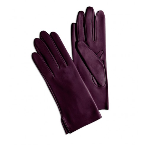 Leather Gloves in Bordeaux