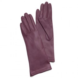 Leathe Gloves in Wine