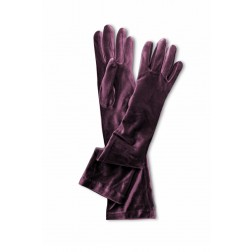 Velvet Gloves in Bordeaux