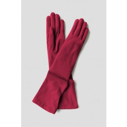 Dakota Gloves in dark Fucsia