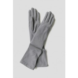 Dakota Gloves in Light Grey