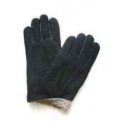Mouton Gloves in Black