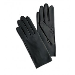 Leather Gloves in Dark Grey