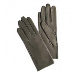 Leather Gloves in Taupe