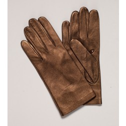 Leather Gloves Bronze