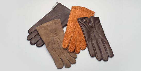 Buy leather gloves for men