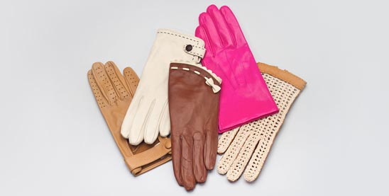 Buy leather gloves for women